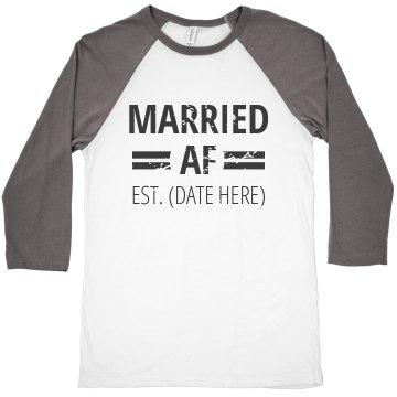 Married AF Est Wedding Date