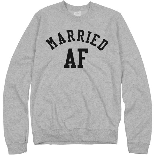 Married AF Funny Wedding Gift