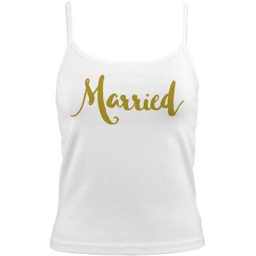 Married Bella Junior Fit Camisol
