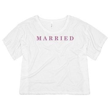 Married Honeymoon Tee