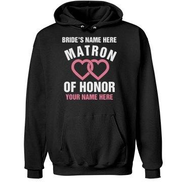 Matron Of Honor Hearts