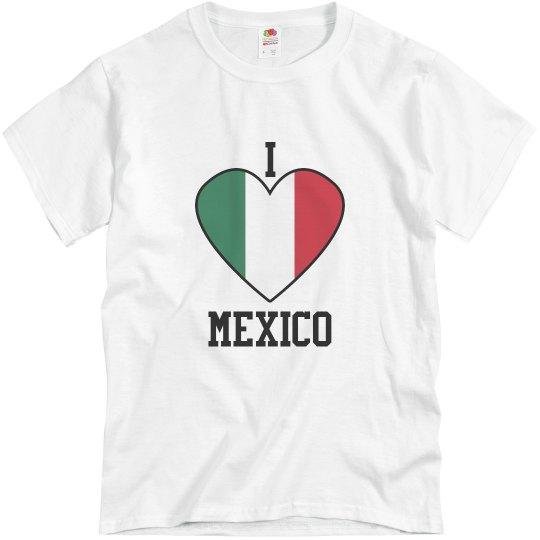 Men's I Love Mexico T-shirt