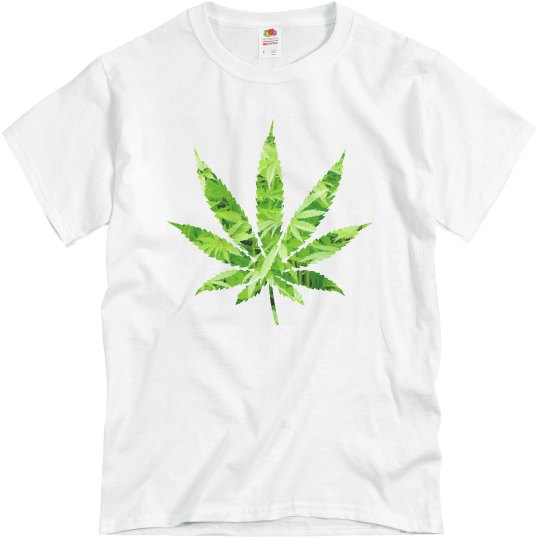 Mens weed tshirt
