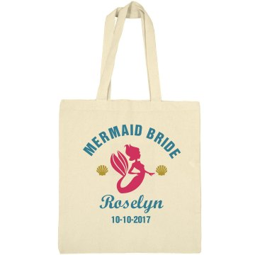 Mermaid Bride Bachelorette Tote