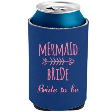 Mermaid Bride Koozie