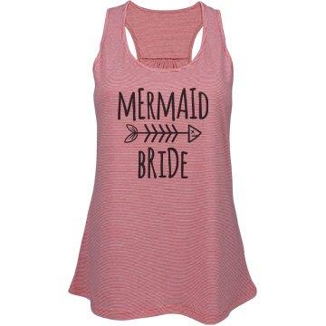 Mermaid Bride Tank Top