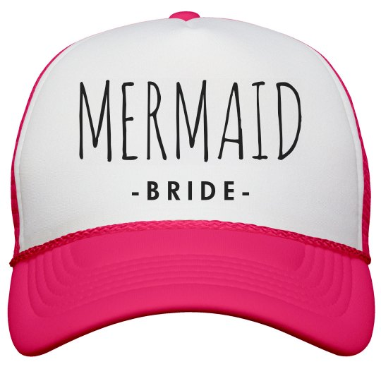 Mermaid Bride To Be Trucker Hat