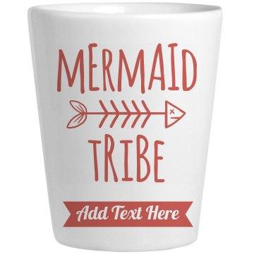 Mermaid Bride Tribe Custom Shot