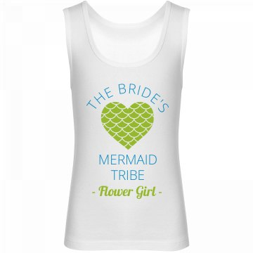 Mermaid Flower girl