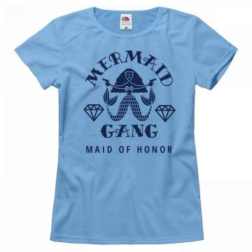 Mermaid Gang Bachelorette Maid Of Honor Matching