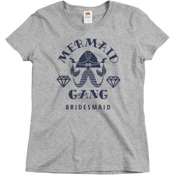 Mermaid Gang Bridesmaid Bridal Party Matching