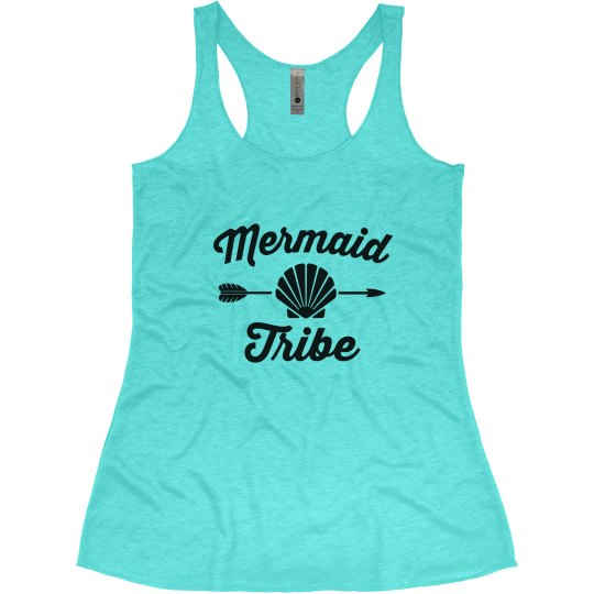 Mermaid Tribe Bachelorette Tank Tops