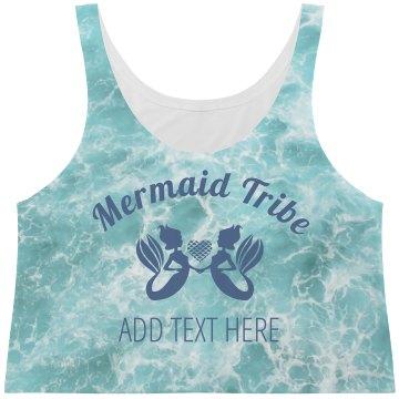 Mermaid Tribe Ocean Print