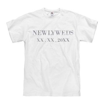 Metallic Custom Mr Newlyweds