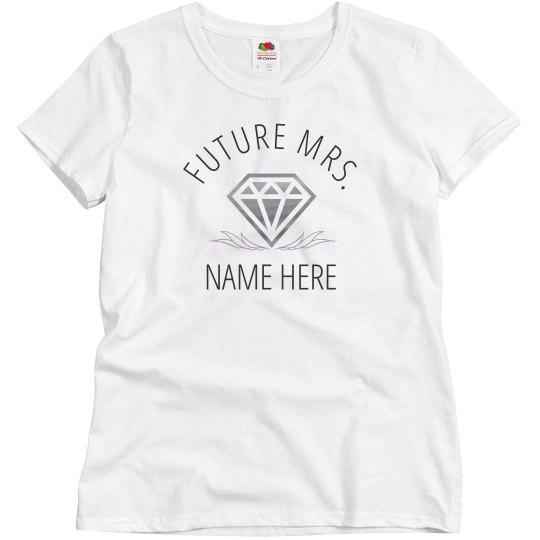 Metallic Diamond Future Mrs