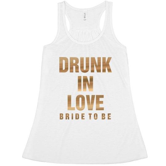 Metallic Drunk Bachelorette 1