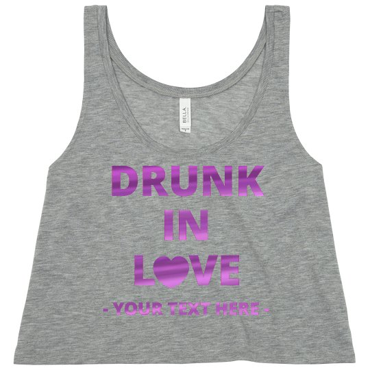 Metallic Drunk In Love Bachelorette