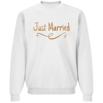 Metallic I Just Got Married!