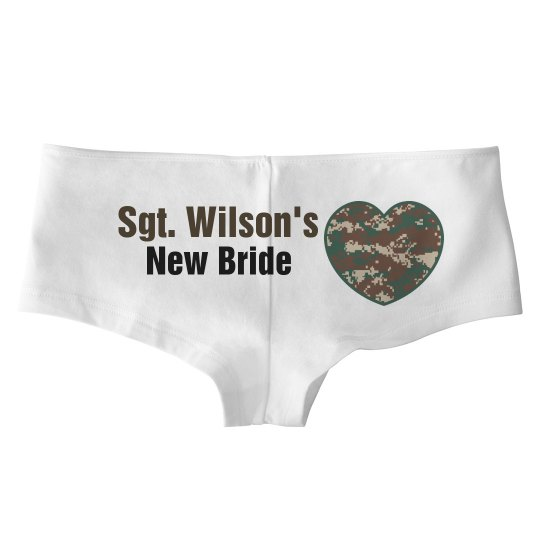 Military Bride Hot Shorts