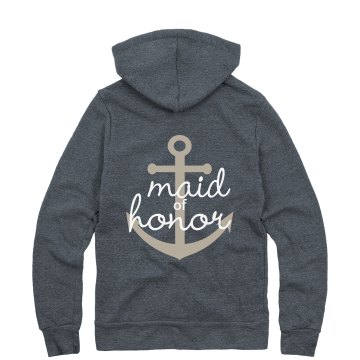 MoH - Navy Anchor Hoodie