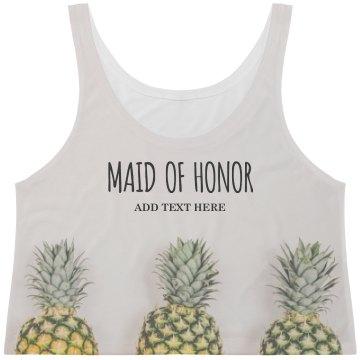 MOH Pineapple Print