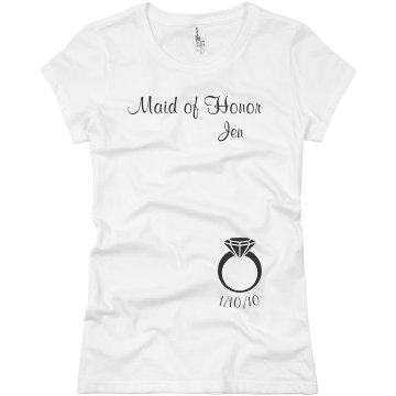 MOH Ring Date Tee