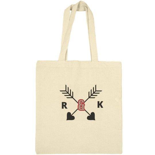 Monogram Bridal Tote Bag