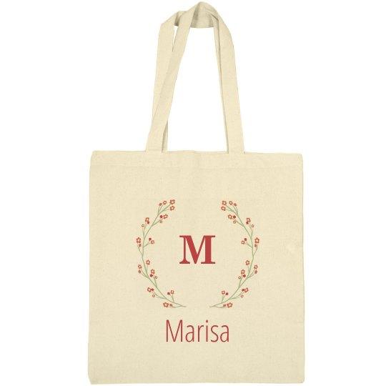 Monogram Bride Tote Bag