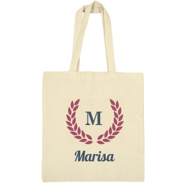 Monogram Bride Tote Bag