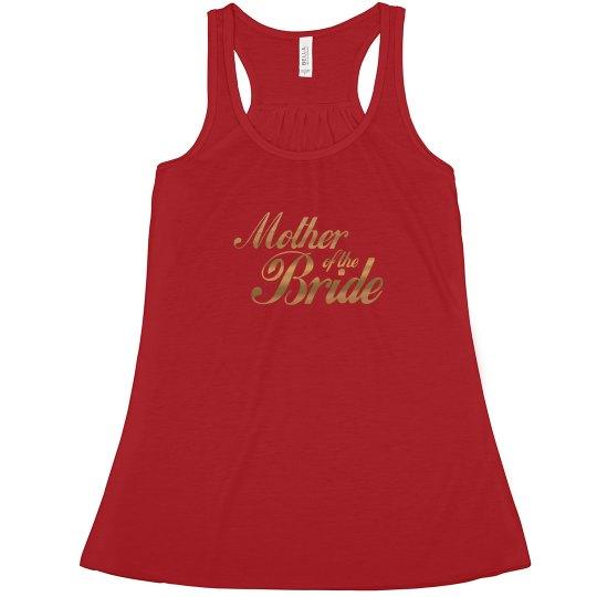 Mother of Bride Tank Top
