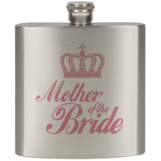 Mother of the Bride Flask