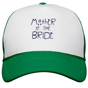 Mother of the Bride Trucker Hat