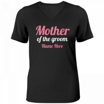 Mother Of The Groom Tee
