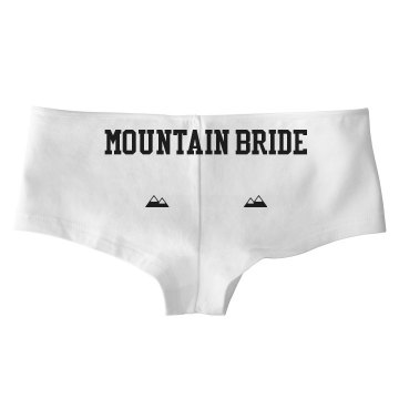 Mountain Bride undies