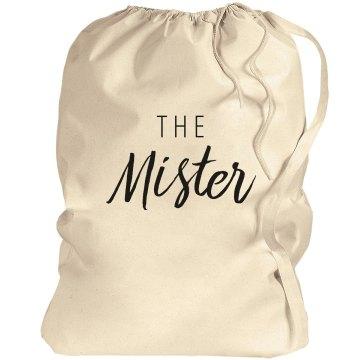 Mr. & Mrs. Matching Laundry Bags