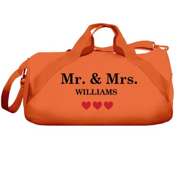 Mr. Mrs Pillowcases