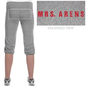 Mrs. Arens Distressed