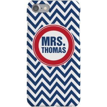 Mrs Custom iPhone Case