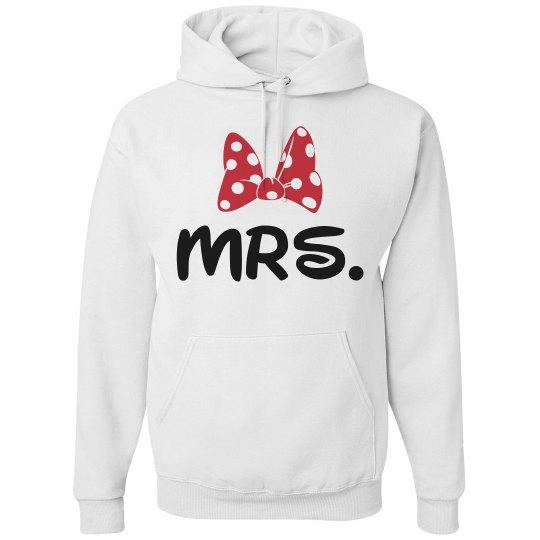 Mrs. Honeymoon hoodie