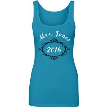 Mrs Jones Custom Tank