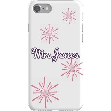 Mrs. Jones Phone Cover