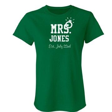 Mrs. Jones Tee