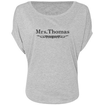 Mrs. Thomas Scroll