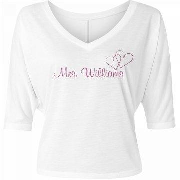 Mrs. Williams Honeymoon