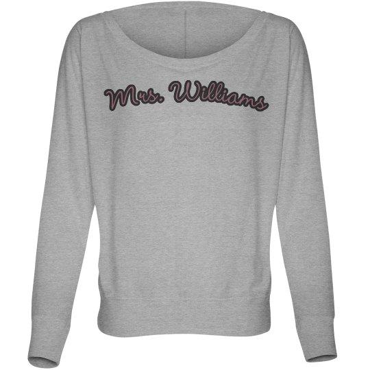 Mrs. Williams Tee