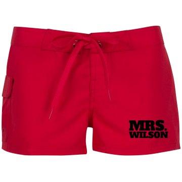 Mrs. Wilson Custom Shorts