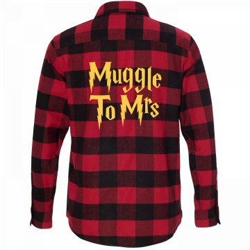 Muggle to Mrs Flannel Shirt