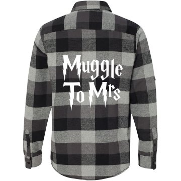 Muggle to Mrs Flannel Shirt