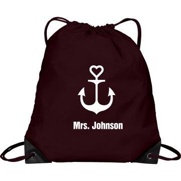 Nautical  Drawstring Bag