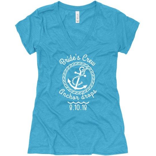 Nautical Bachelorette- Bride's Crew (Shirt)